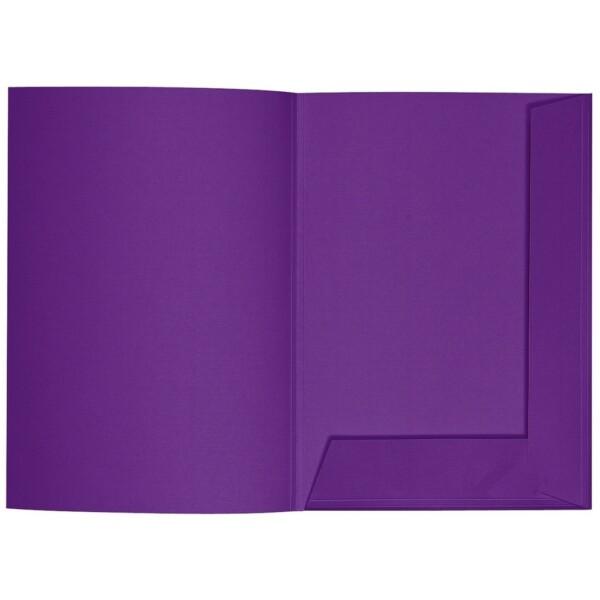 Artoz 1001 - 'Violet' Folder. 220mm x 310mm 220gsm A4 Presentation Folder.