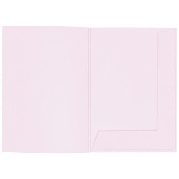 Artoz 1001 - 'Delicate Pink' Folder. 220mm x 310mm 220gsm A4 Presentation Folder.