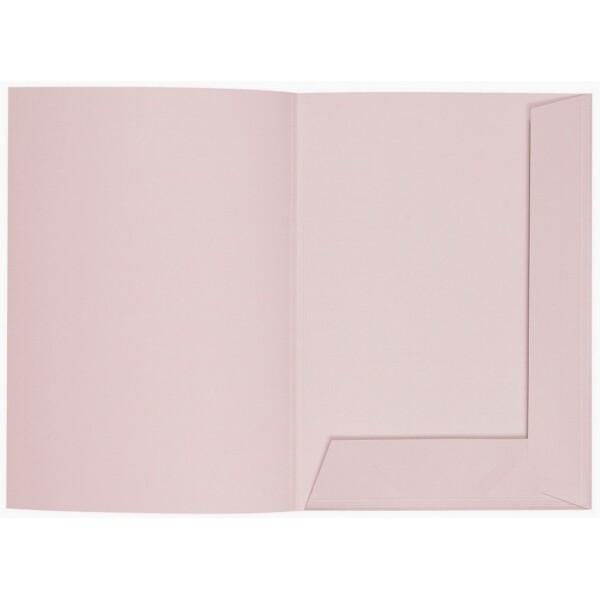 Artoz 1001 - 'Pink' Folder. 220mm x 310mm 220gsm A4 Presentation Folder.