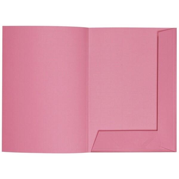 Artoz 1001 - 'Coral' Folder. 220mm x 310mm 220gsm A4 Presentation Folder.