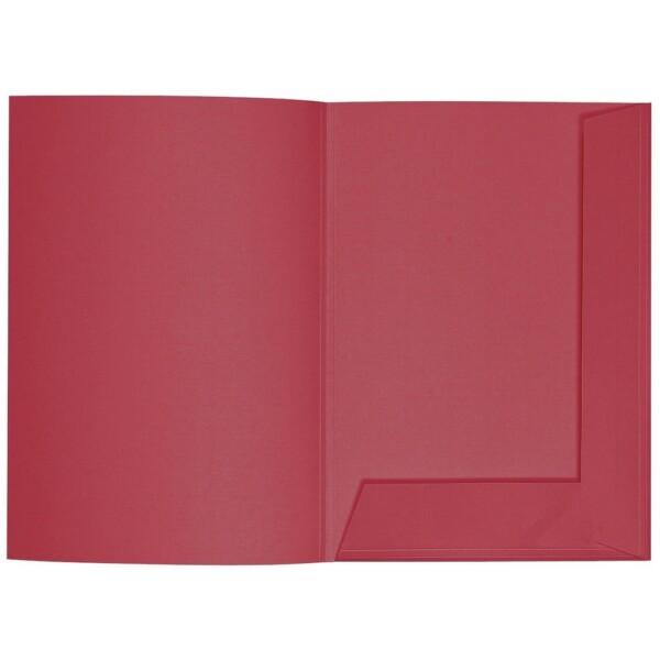 Artoz 1001 - 'Purple Red' Folder. 220mm x 310mm 220gsm A4 Presentation Folder.