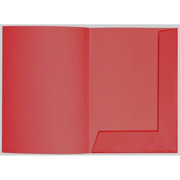 Artoz 1001 - 'Red' Folder. 220mm x 310mm 220gsm A4 Presentation Folder.