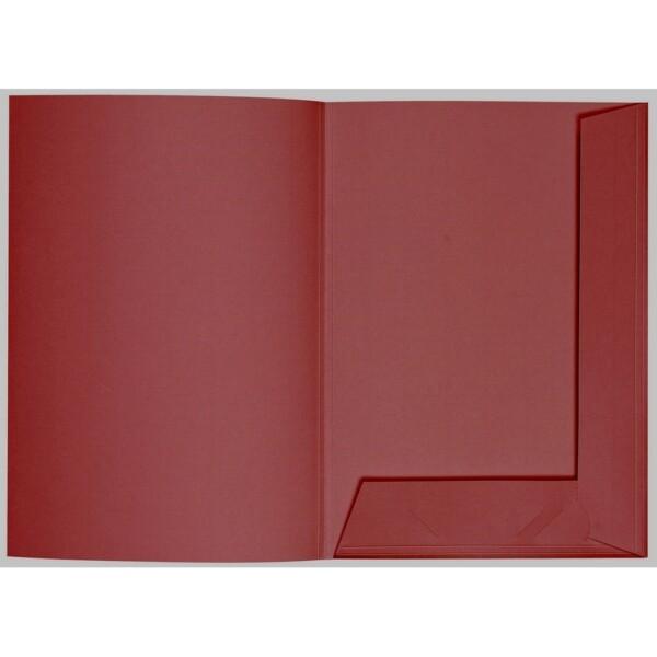 Artoz 1001 - 'Bordeaux' Folder. 220mm x 310mm 220gsm A4 Presentation Folder.