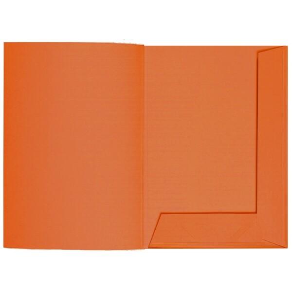 Artoz 1001 - 'Lobster Red' Folder. 220mm x 310mm 220gsm A4 Presentation Folder.