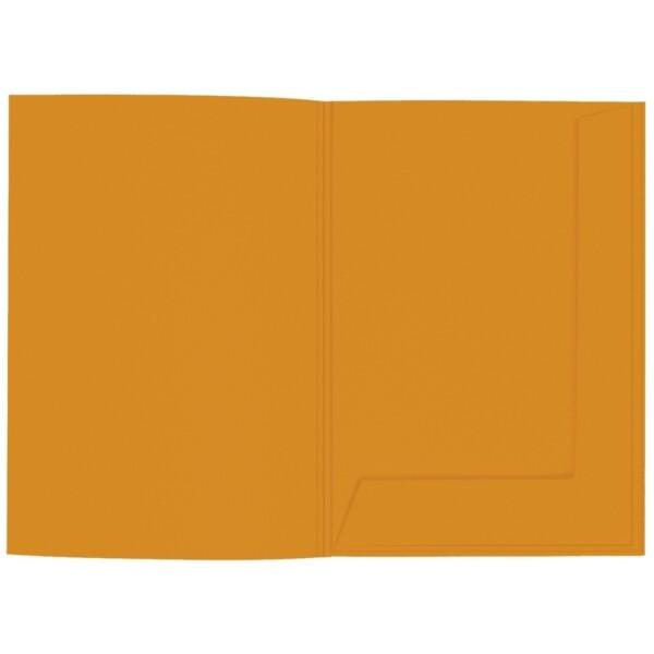 Artoz 1001 - 'Mandarin' Folder. 220mm x 310mm 220gsm A4 Presentation Folder.