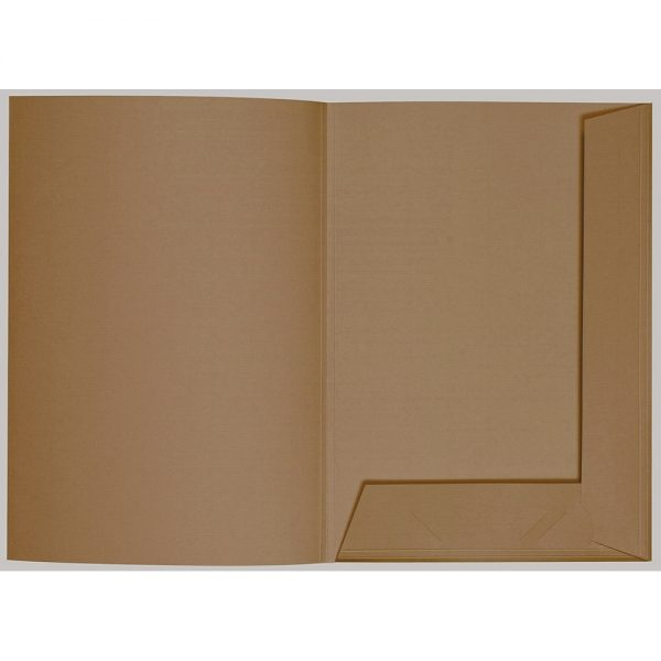 Artoz 1001 - 'Olive' Folder. 220mm x 310mm 220gsm A4 Presentation Folder.