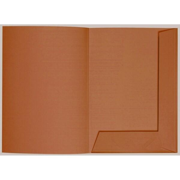 Artoz 1001 - 'Copper' Folder. 220mm x 310mm 220gsm A4 Presentation Folder.