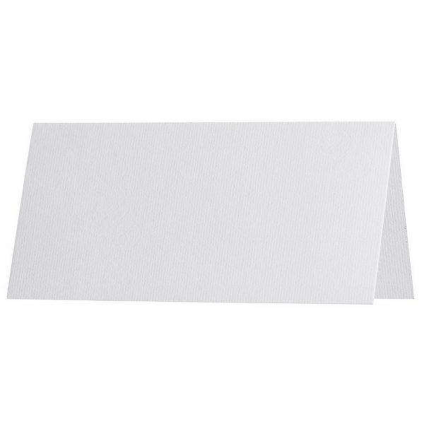 Artoz 1001 - 'Blossom White' Paper. 100mm x 90mm 100gsm Place Card Paper.