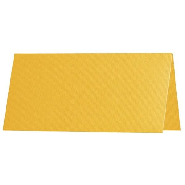 Artoz 1001 - 'Sun Yellow' Paper. 100mm x 90mm 100gsm Place Card Paper.