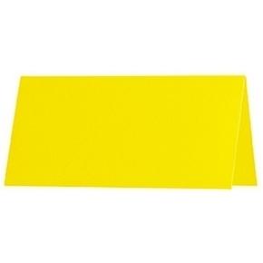Artoz 1001 - 'Corn Yellow' Paper. 100mm x 90mm 100gsm Place Card Paper.