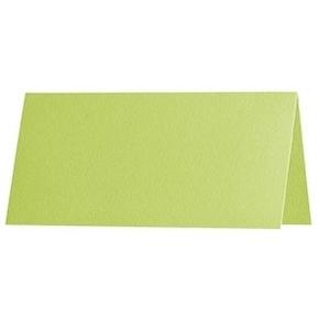 Artoz 1001 - 'Lime' Paper. 100mm x 90mm 100gsm Place Card Paper.