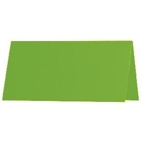 Artoz 1001 - 'Pea Green' Paper. 100mm x 90mm 100gsm Place Card Paper.