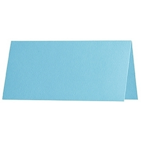 Artoz 1001 - 'Azure Blue' Paper. 100mm x 90mm 100gsm Place Card Paper.