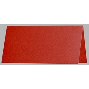 Artoz 1001 - 'Fire Red' Paper. 100mm x 90mm 100gsm Place Card Paper.