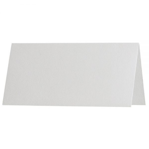 Artoz 1001 - 'Bianco White' Card. 132mm x 103mm 220gsm A7 Place Card.
