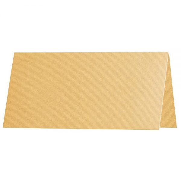 Artoz 1001 - 'Honey Yellow' Card. 132mm x 103mm 220gsm A7 Place Card.