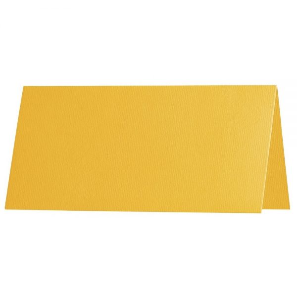 Artoz 1001 - 'Sun Yellow' Card. 132mm x 103mm 220gsm A7 Place Card.