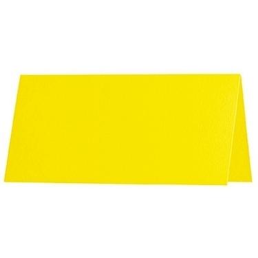 Artoz 1001 - 'Corn Yellow' Card. 132mm x 103mm 220gsm A7 Place Card.