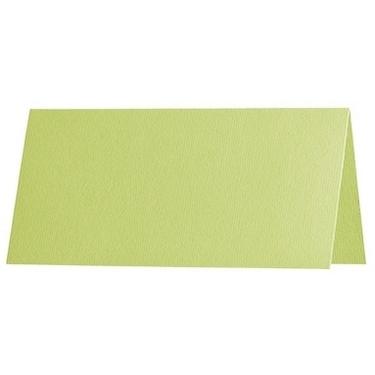 Artoz 1001 - 'Lime' Card. 132mm x 103mm 220gsm A7 Place Card.