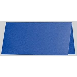 Artoz 1001 - 'Royal Blue' Card. 132mm x 103mm 220gsm A7 Place Card.