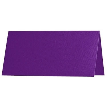 Artoz 1001 - 'Violet' Card. 132mm x 103mm 220gsm A7 Place Card.