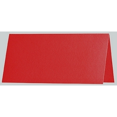 Artoz 1001 - 'Red' Card. 132mm x 103mm 220gsm A7 Place Card.