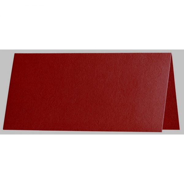 Artoz 1001 - 'Bordeaux' Card. 132mm x 103mm 220gsm A7 Place Card.