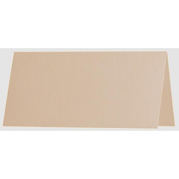 Artoz 1001 - 'Apricot' Card. 132mm x 103mm 220gsm A7 Place Card.