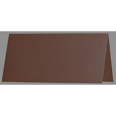 Artoz 1001 - 'Brown' Card. 132mm x 103mm 220gsm A7 Place Card.