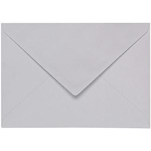 Artoz 1001 - 'Light Grey' Envelope. 110mm x 75mm 100gsm C7 Gummed Envelope.