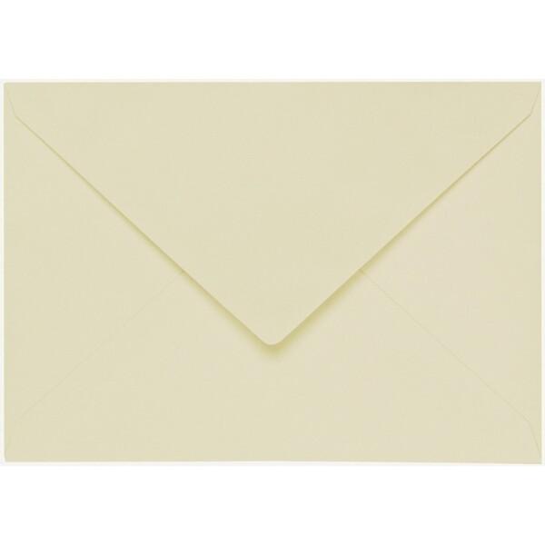 Artoz 1001 - 'Crema' Envelope. 110mm x 75mm 100gsm C7 Gummed Envelope.