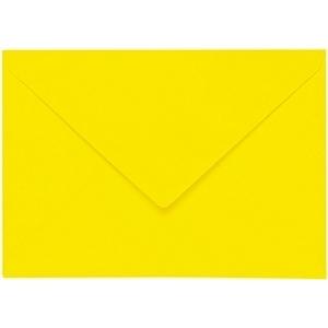 Artoz 1001 - 'Corn Yellow' Envelope. 110mm x 75mm 100gsm C7 Gummed Envelope.