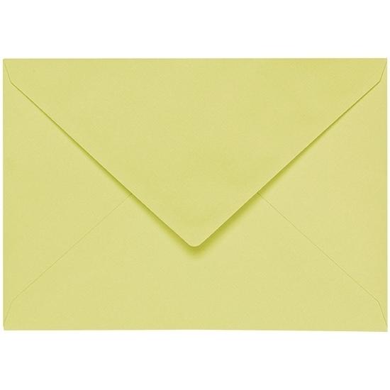 Artoz 1001 - 'Lime' Envelope. 110mm x 75mm 100gsm C7 Gummed Envelope.