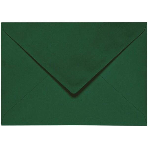 Artoz 1001 - 'Racing Green' Envelope. 110mm x 75mm 100gsm C7 Gummed Envelope.