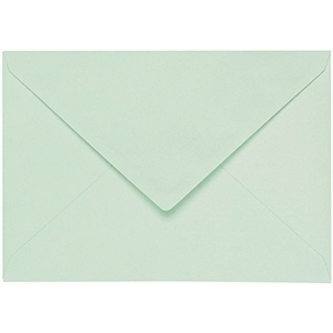Artoz 1001 - 'Pale Mint' Envelope. 110mm x 75mm 100gsm C7 Gummed Envelope.