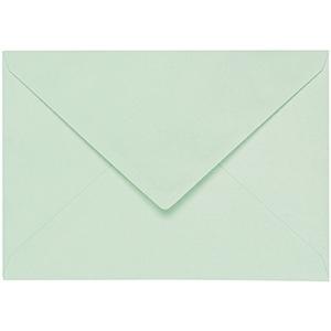 Artoz 1001 - 'Pale Mint' Envelope. 110mm x 75mm 100gsm C7 Gummed Envelope.