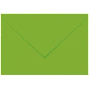 Artoz 1001 - 'Pea Green' Envelope. 110mm x 75mm 100gsm C7 Gummed Envelope.