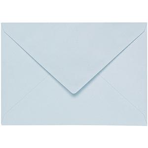 Artoz 1001 - 'Sky Blue' Envelope. 110mm x 75mm 100gsm C7 Gummed Envelope.