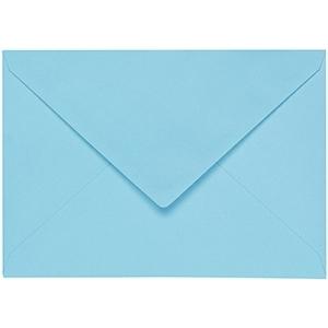 Artoz 1001 - 'Azure Blue' Envelope. 110mm x 75mm 100gsm C7 Gummed Envelope.