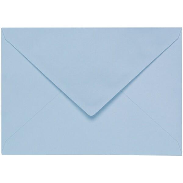 Artoz 1001 - 'Pastel Blue' Envelope. 110mm x 75mm 100gsm C7 Gummed Envelope.