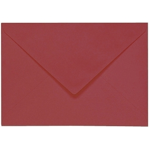 Artoz 1001 - 'Purple Red' Envelope. 110mm x 75mm 100gsm C7 Gummed Envelope.