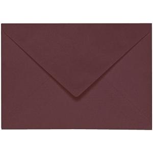 Artoz 1001 - 'Marsala' Envelope. 110mm x 75mm 100gsm C7 Gummed Envelope.
