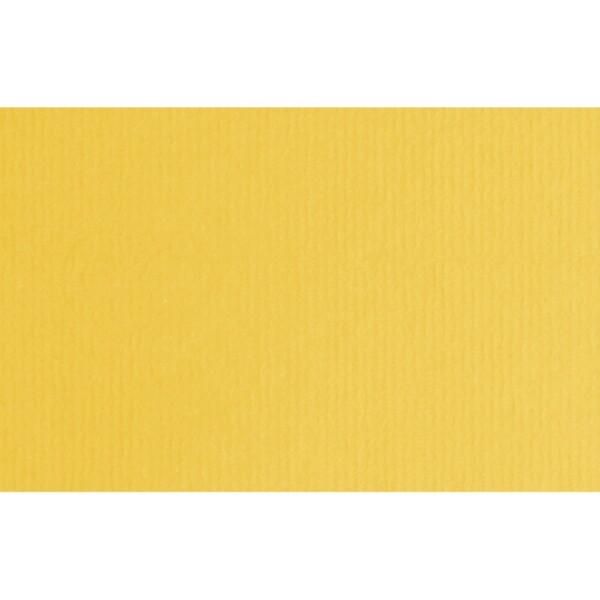 Artoz 1001 - 'Sun Yellow' Card. 103mm x 66mm 220gsm A7 Card Card.