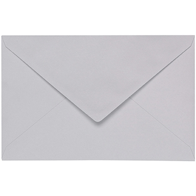 Artoz 1001 - 'Light Grey' Envelope. 140mm x 90mm 100gsm B7 Gummed Envelope.