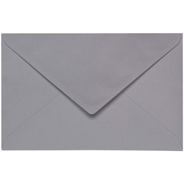 Artoz 1001 - 'Graphite' Envelope. 140mm x 90mm 100gsm B7 Gummed Envelope.