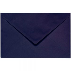 Artoz 1001 - 'Jet Black' Envelope. 140mm x 90mm 100gsm B7 Gummed Envelope.