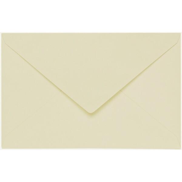 Artoz 1001 - 'Crema' Envelope. 140mm x 90mm 100gsm B7 Gummed Envelope.