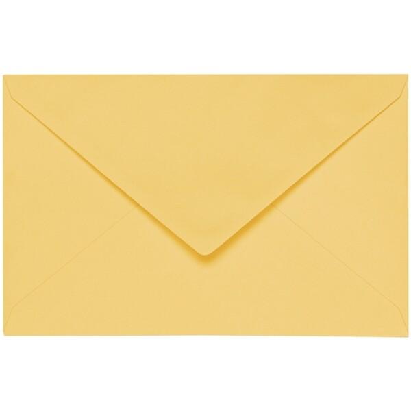Artoz 1001 - 'Light Yellow' Envelope. 140mm x 90mm 100gsm B7 Gummed Envelope.