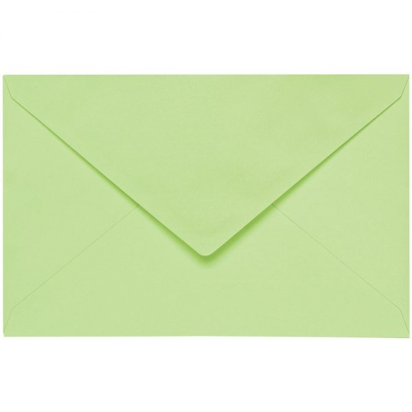 Artoz 1001 - 'Birchtree Green' Envelope. 140mm x 90mm 100gsm B7 Gummed Envelope.