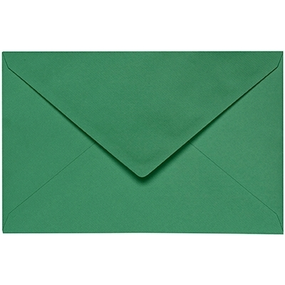 Artoz 1001 - 'Firtree Green' Envelope. 140mm x 90mm 100gsm B7 Gummed Envelope.